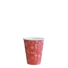 Sachet x 50 gobelets carton Noël 8oz/237ml