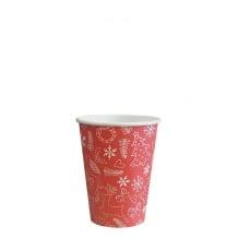 Sachet x 50 gobelets carton Noël 12oz/355ml