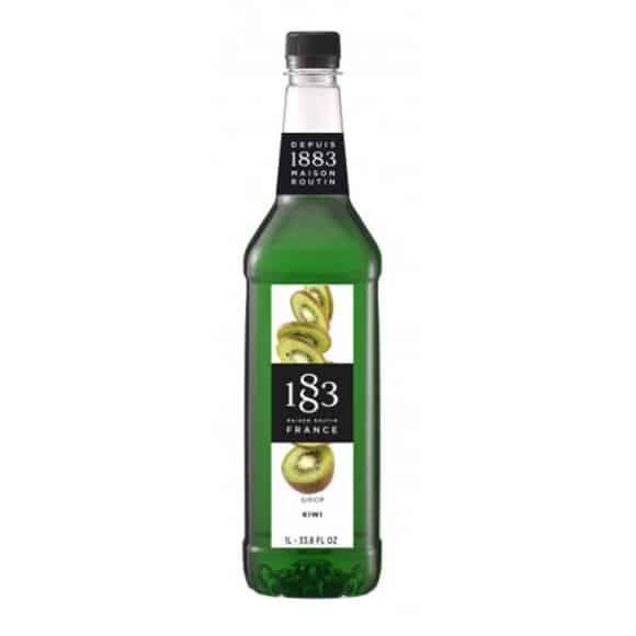 Lot de 6 Sirops Kiwi bouteille PET 1L