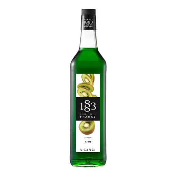Sirop Kiwi bouteille verre 1L