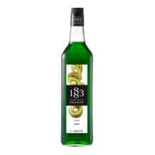 Lot de 6 Sirops Kiwi bouteille verre 1L