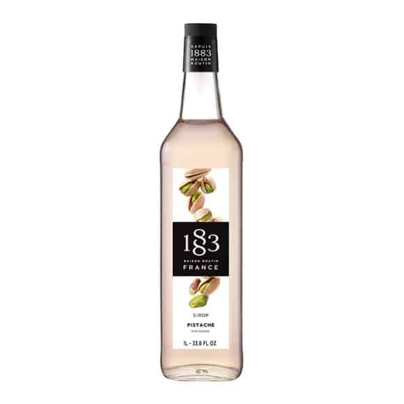Sirop Pistache bouteille verre 1L