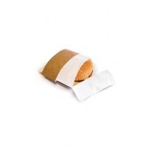 Anneau kraft avec film papier pour snacks chauds x 500