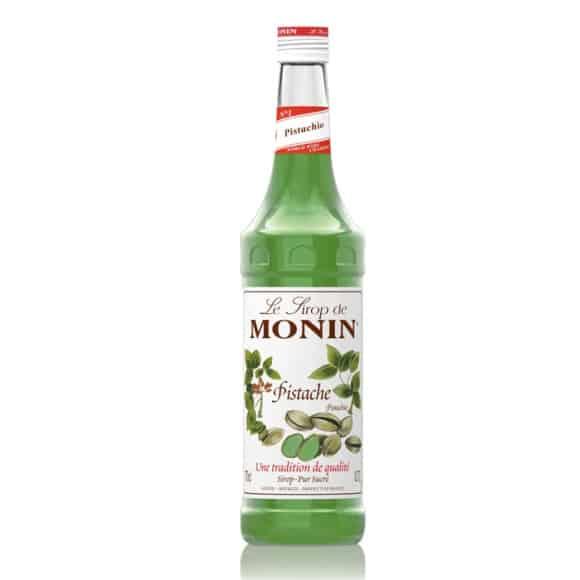 sirop pistache monin bouteille verre 70cl
