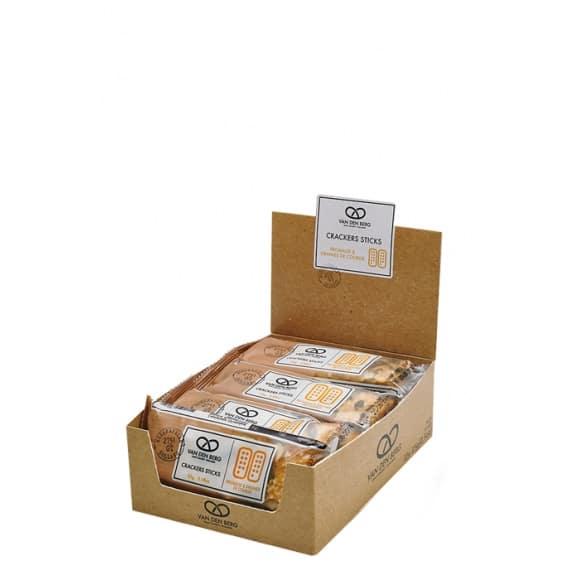 Crackers salés Fromage et graines de Courge 12 x 25g