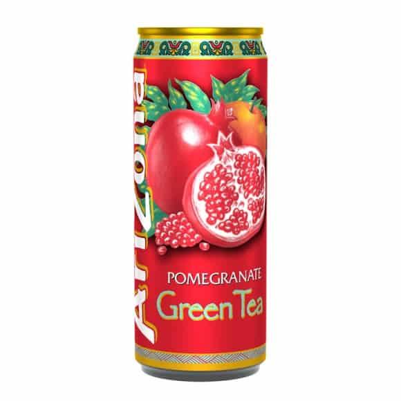 Thé glacé Thé vert Grenade canette 24 x 330ml