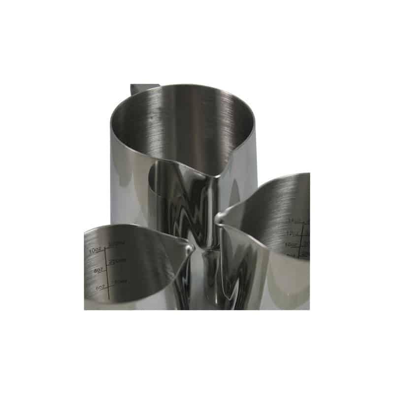 rhinowares pot lait pro 12oz 350ml avec graduations. Black Bedroom Furniture Sets. Home Design Ideas