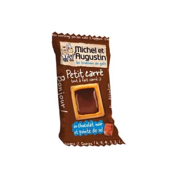 Petit carré chocolat noir