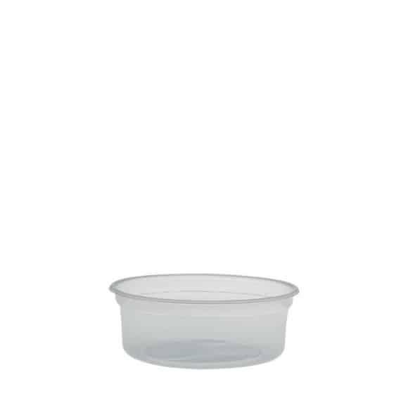 Sachet x 25 MICROGOURMET Pots PP micro-ondables 8oz/237ml