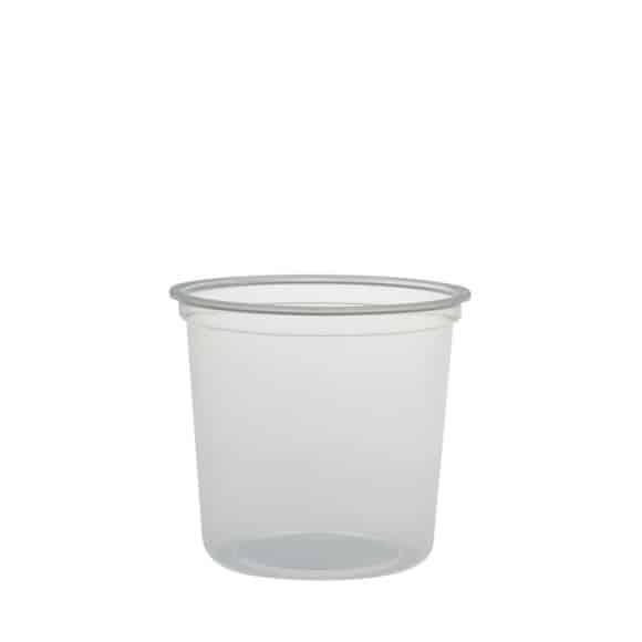 Sachet x 25 MICROGOURMET Pots PP micro-ondables 24oz/710ml