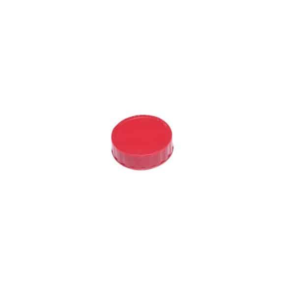 Bouchon à vis FIFO Rouge