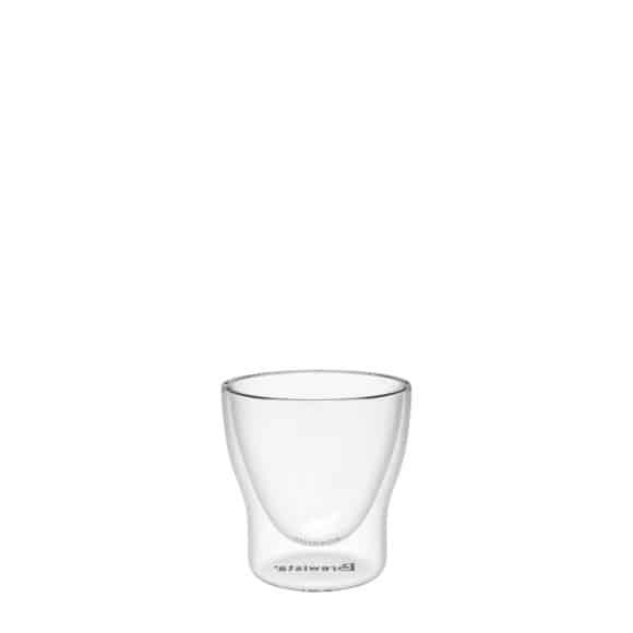 Smart Shot™ verre espresso double paroi base ronde 60ml