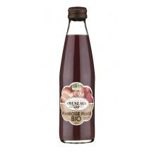 nectar framboise fraise bouteille verre