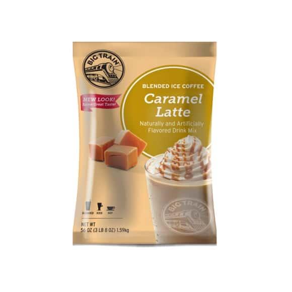 Lot de 5 Frappés Café Caramel poche 1.588kg