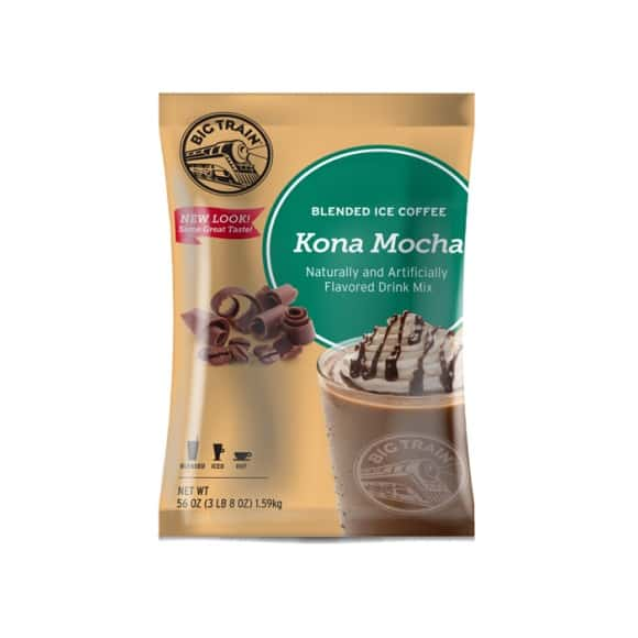 Lot de 5 Frappés Café Mocha poche 1.588kg