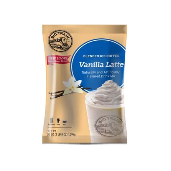 Lot de 5 Frappés Café Vanille poche 1.588kg