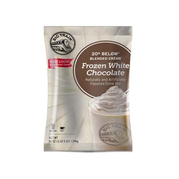 Lot de 5 Frappés Chocolat blanc poche 1.588kg