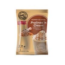 Lot de 5 frappés Café à la praline poche 1.588kg
