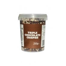 céréales soufflées aux trois chocolats 250g
