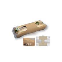 Anneau kraft avec film plastique pour demi baguette x 500