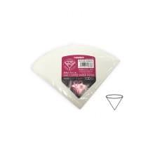 Filtres papier blanc pour Hario V60 1-4 tasses x 100