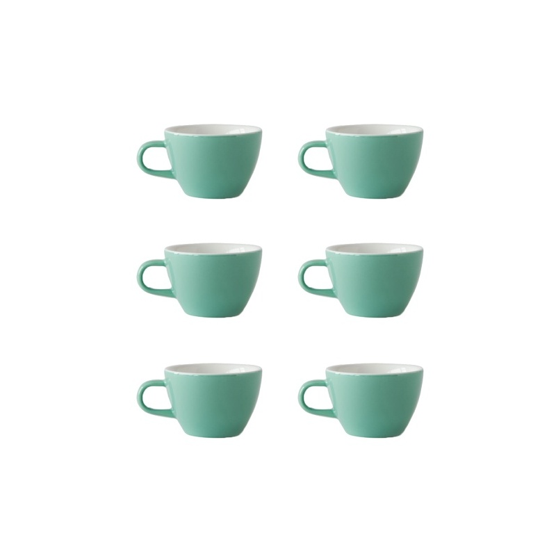 acme and co tasse porcelaine flat white 150ml coloris vert. Black Bedroom Furniture Sets. Home Design Ideas