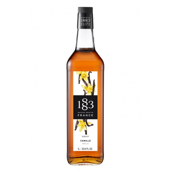 Sirop Vanille bouteille verre 1L
