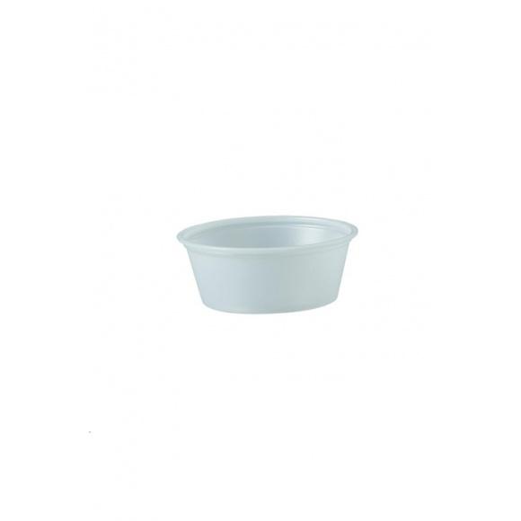 Sachet x 250 pots dégustation PET translucide 1.5oz/44ml