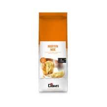Lot de 4 Mix en poudre pour muffins nature Sac 3,5kg