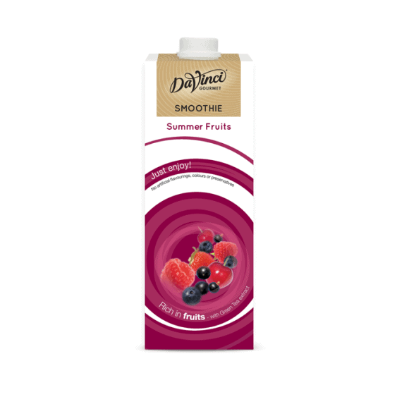 Da Vinci Smoothie Fruits rouges tetrapak 8 x 1L