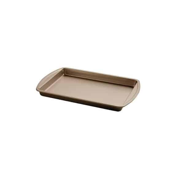 Moule à brownie acier H.30 x L.385 x P.255 mm