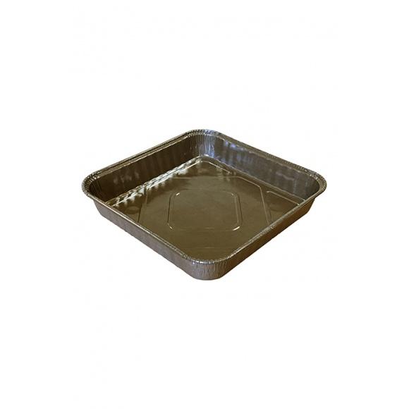 Moule à brownie carré carton bords roulés x500