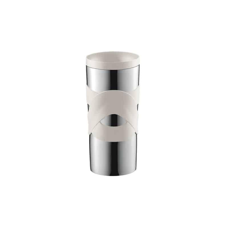 Bodum Travel Mug 12oz350ml Inox Blanc Isotherme cAj354RqL