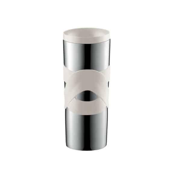 TRAVEL MUG Inox double paroi Blanc 15oz/450ml