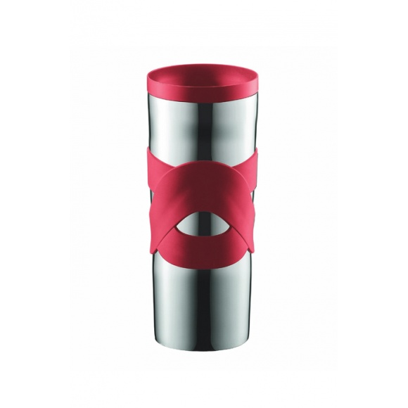 TRAVEL MUG Inox double paroi Rouge 15oz/450ml