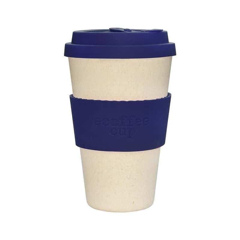 ecoffee cup gobelet bambou blue nature 14oz 400ml. Black Bedroom Furniture Sets. Home Design Ideas