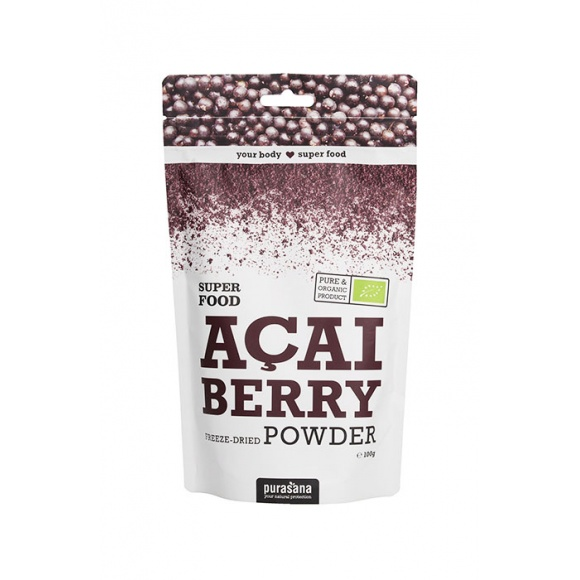 Poudre de baies d'Açaï SuperFood poche 100g