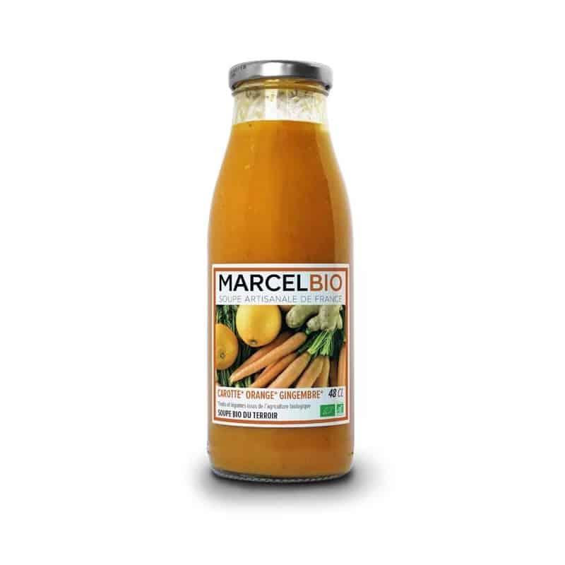marcel bio soupe carotte orange gingembre bio. Black Bedroom Furniture Sets. Home Design Ideas