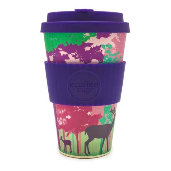 Gobelet en fibre de bambou frankly my deer 14oz/400ml
