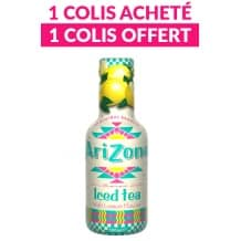 Thé glacé Thé noir Citron bouteille PET 6 x 500ml DLUO 01/18