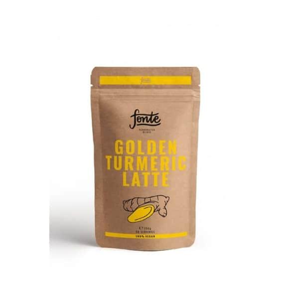 Superfood Golden Turmeric Curcuma Latte poche 250g