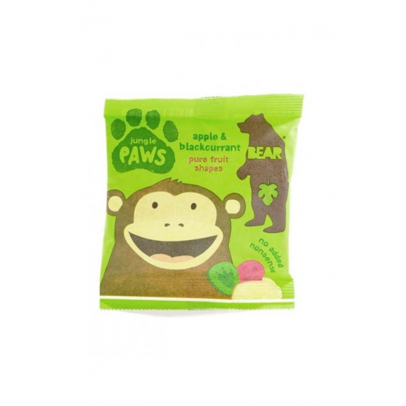 Jungle Paws pâtes de fruits Fraise Pomme 18 x 20g