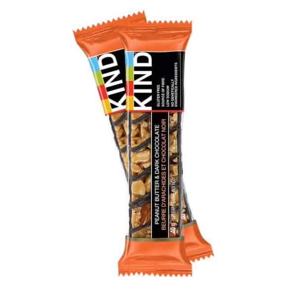 Présentoir barres de céréales Peanut Butter & Dark Chocolate 12 x 40g
