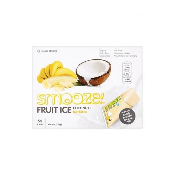 Glace à congeler Noix de coco Banane 5x65ml