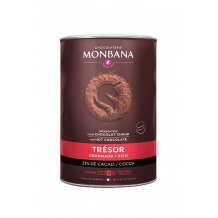 Monbana Chocolat en poudre Trésor de Chocolat boîte 1kg