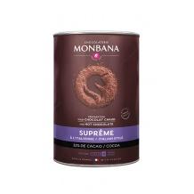 Monbana Chocolat en poudre Suprême de Chocolat boîte 1kg