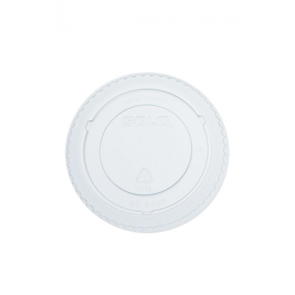Sachet x 100 couvercles plats sans trou pour pots à desserts 3,5oz/104ml