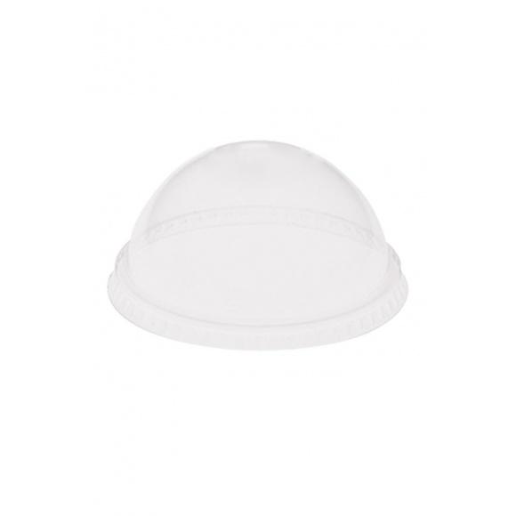 Sachet x 100 dômes sans trou pour pots à desserts 3,5oz/104ml