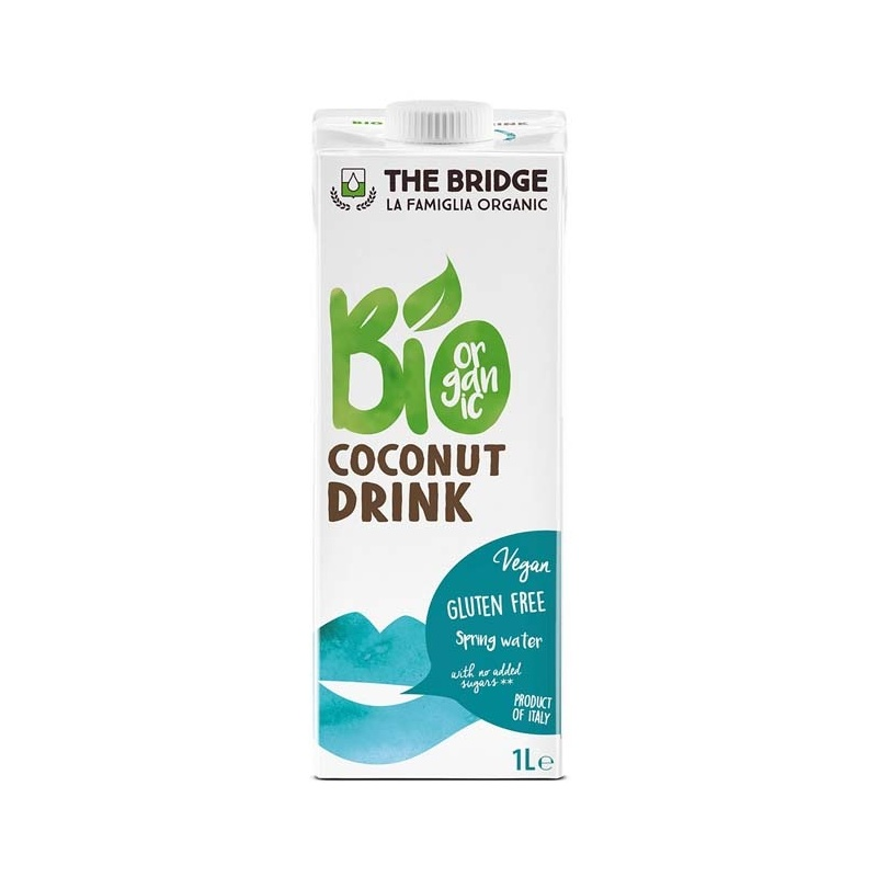 The bridge lait de coco bio for Cocktail lait de coco