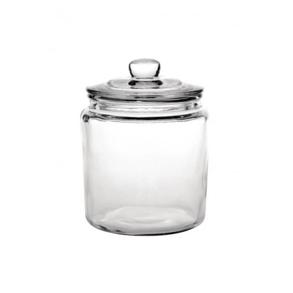 Jarre en verre avec couvercle 3.8L
